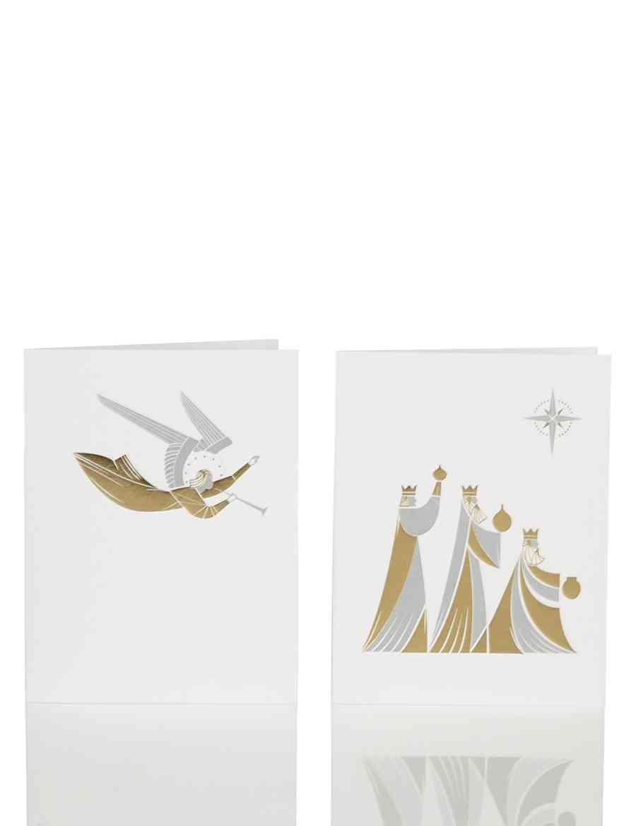 20 Kings & Angel Charity Christmas Multipack Cards - Supporting ...