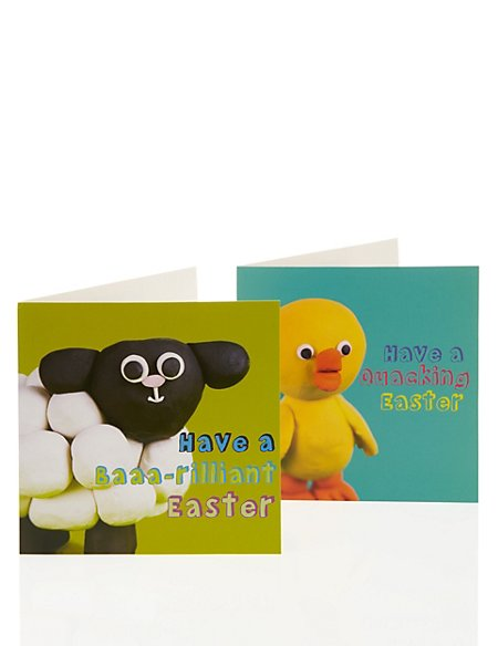 Cute Animals Multipack Easter Cards