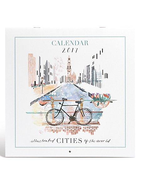 Illustrated Cities Calendar