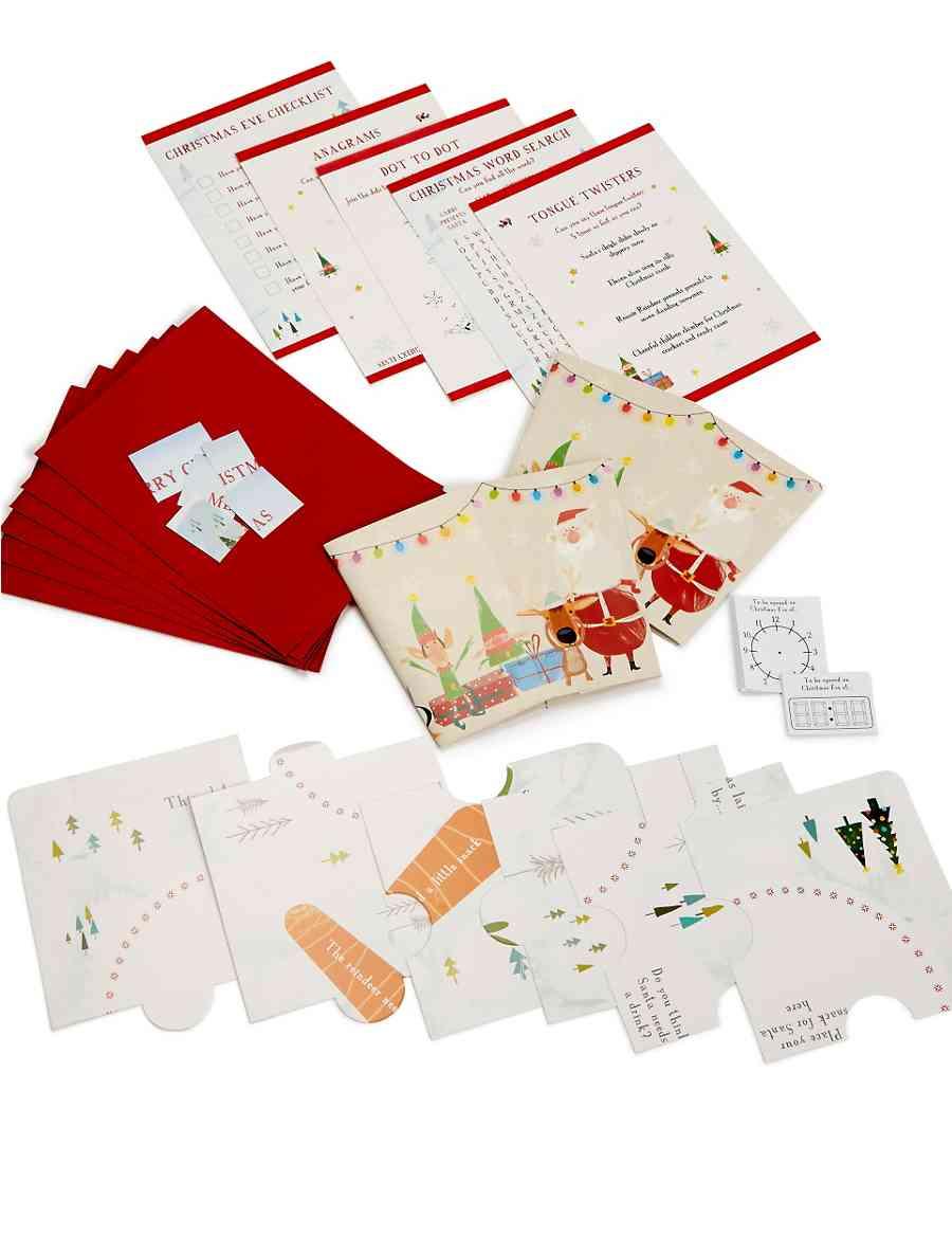 Christmas Eve Activity Kit | M&S