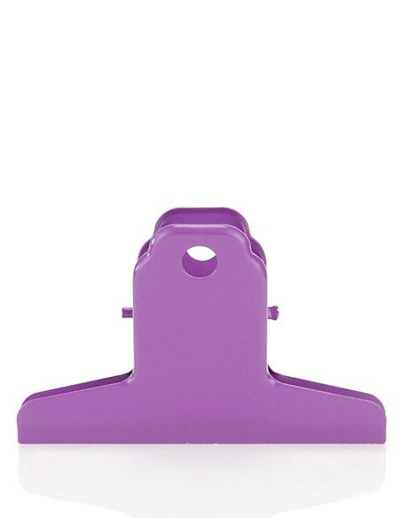 Large Purple Metal Clip