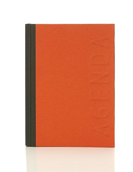 Stylish Orange Week to View Planner