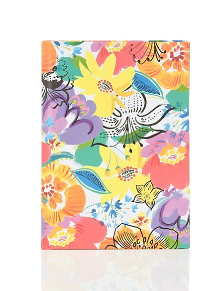Vibrant Flower A5 Rio Notebook