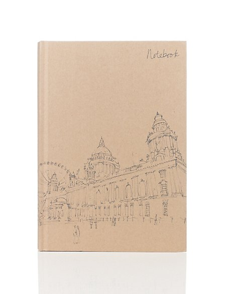 Classic Illustrated Kraft Notebook