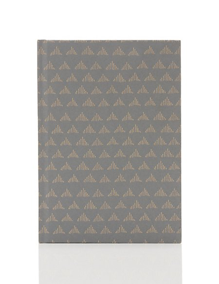 Classic Illustrated A5 Pattern Notebook
