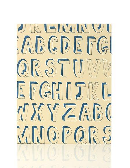 Boutique Alphabet A4 Ring Binder
