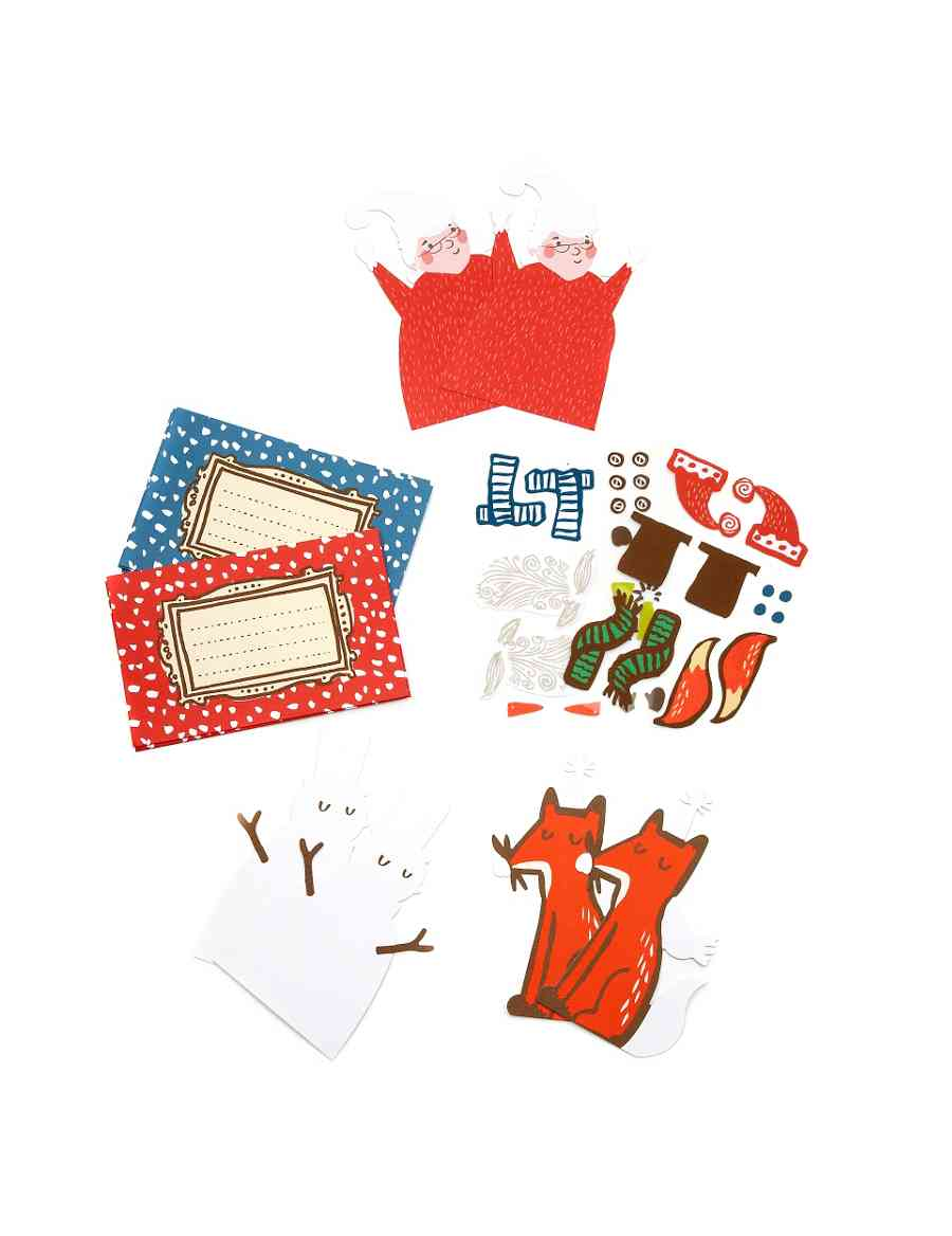 6 Make Your Own Felt Christmas Cards | M&S