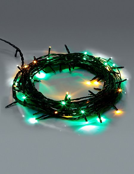 80 multicoloured multifunction led christmas lights - Multifunction Christmas Lights