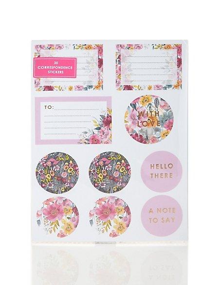 Fancy Floral Sticker Set