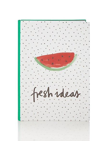 Tutti Fruity A5 Watermelon Notebook