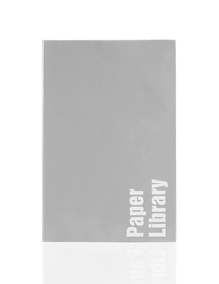 Grey Soft Touch A6 Notebook