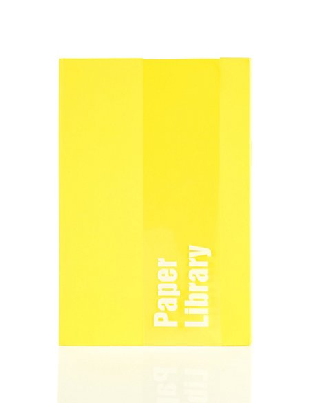 A6 Yellow Soft Touch Notebook