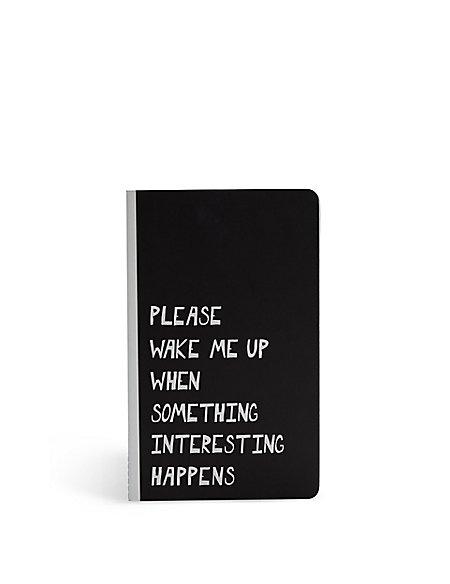 Wake Me Up Slim Exercise Book