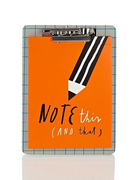 Notepad & Clipboard