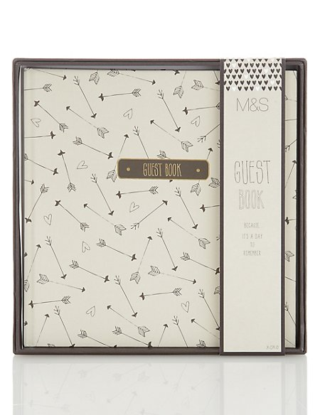 Contemporary Wedding Guest Book