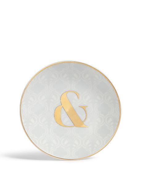 ABC & Ampersand Trinket Tray