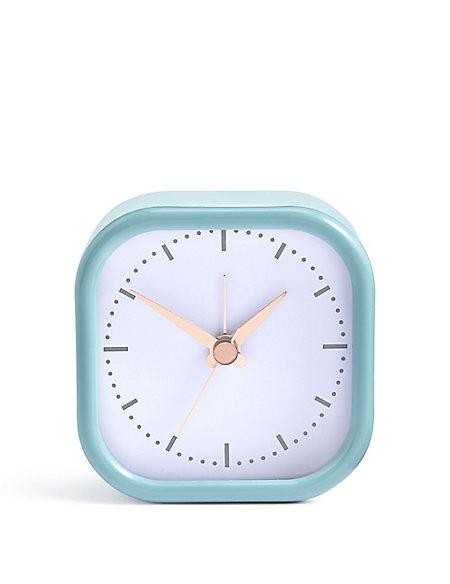 Round Square Alarm Clock