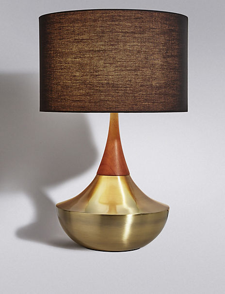 Tribe Shaded Table Lamp
