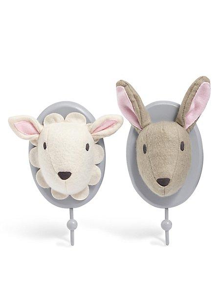 Sheep/Bunny Wall Hook