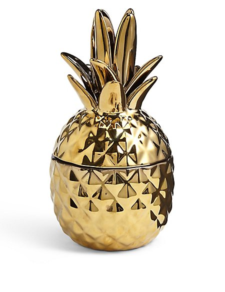 Gold Scented Pineapple Candle