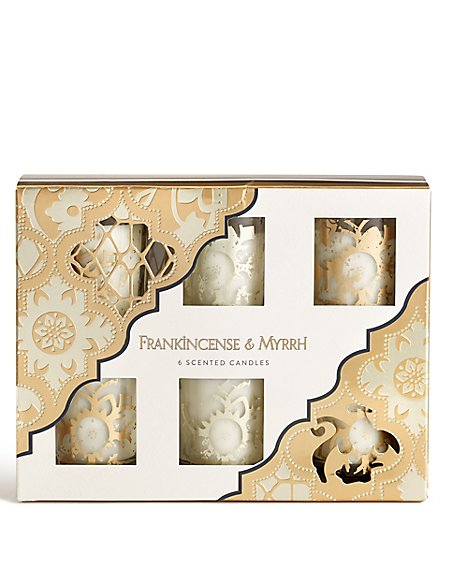 Frankincense & Myrrh Set of 6 Votives