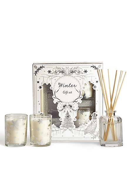 Winter Diffuser & Candle Gift Set 40ml