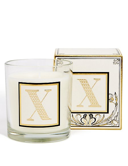Alphabet Scented Candle X