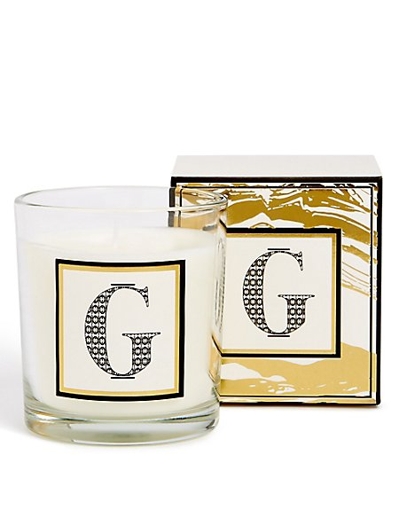 Alphabet Scented Candle G