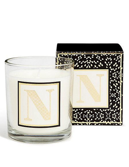 Alphabet Scented Candle N