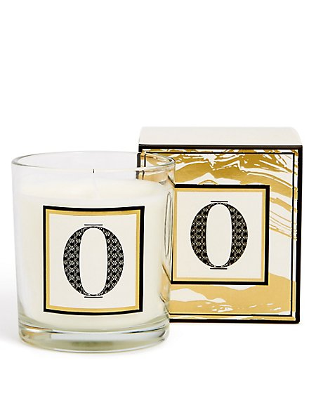 Alphabet Scented Candle O