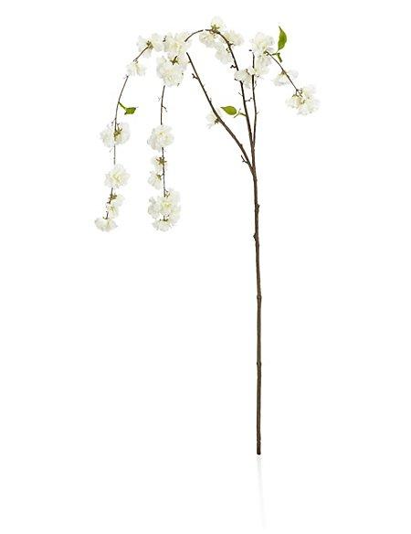 Artificial Draped Cheerry Blossom Stem
