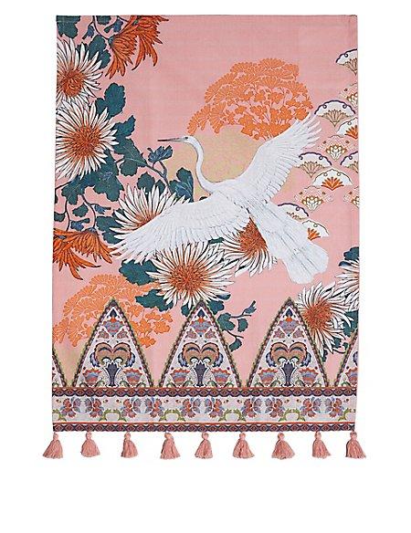 Opulent Stork Tea Towel