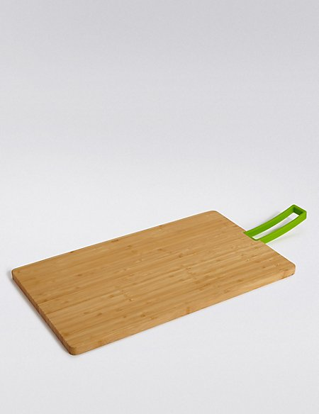 Large Bamboo Board Handle Chopping Board