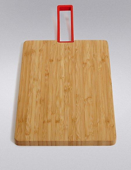 Medium Bamboo Board Handle Chopping Board