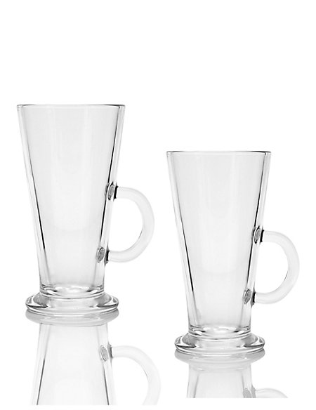 2 Latte Footed Mugs