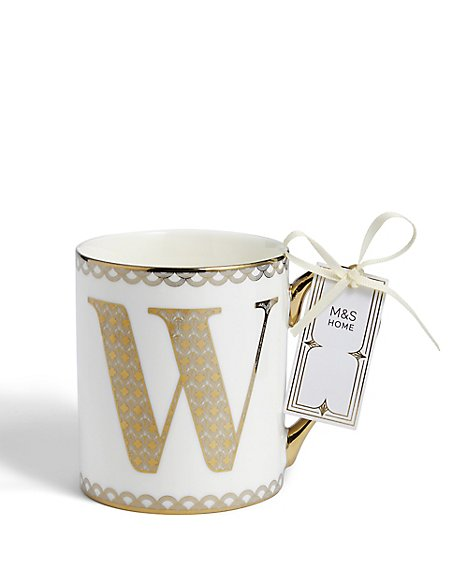 Gold Mug W
