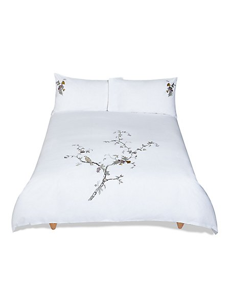 Secret Garden Embroidered Bedding Set