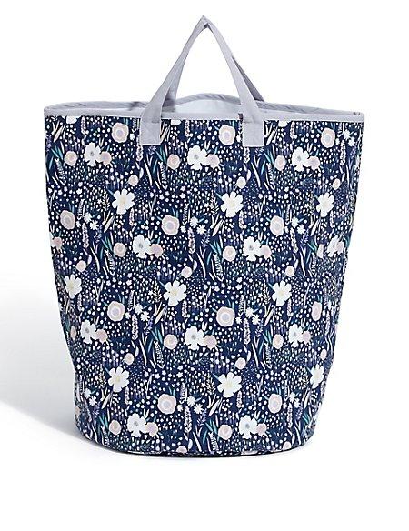 Loft Floral Laundry Bag