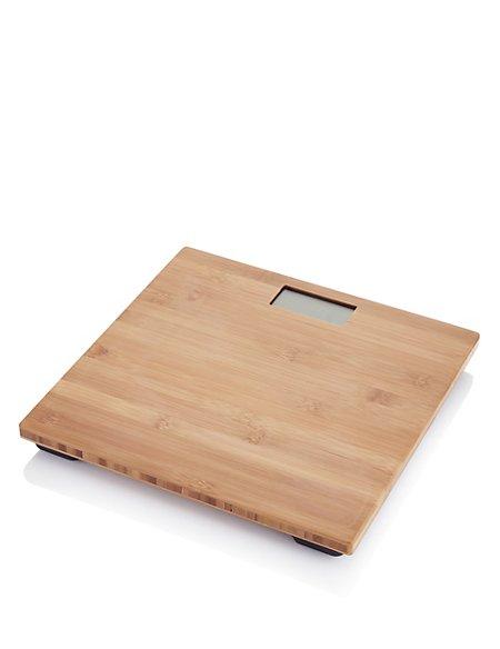 Bamboo Bathroom Scale