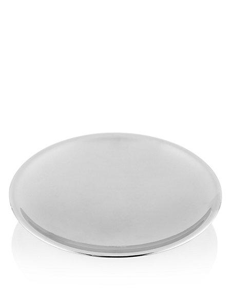 Sleek Chrome Plated Soap Dish