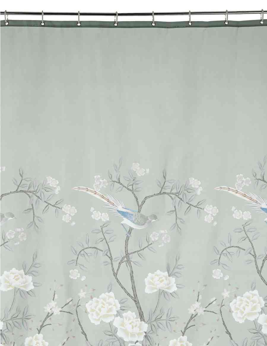Keepsake Bird Print Shower Curtain