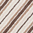 Quick Dry Striped Bath & Pedestal Mats, MOCHA, swatch