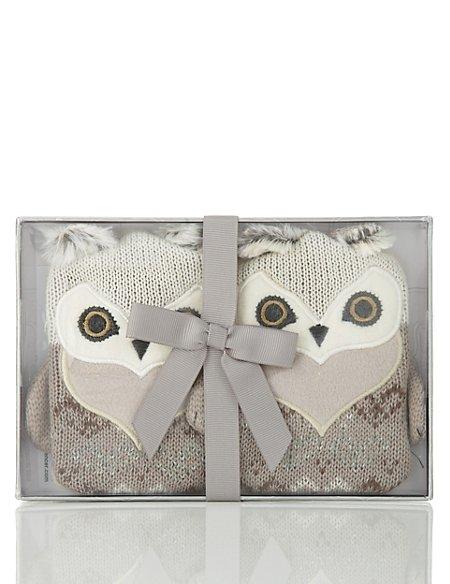 Owl Handwarmers
