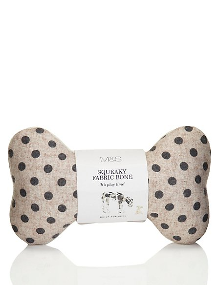 Small Spotted Fabric Bone