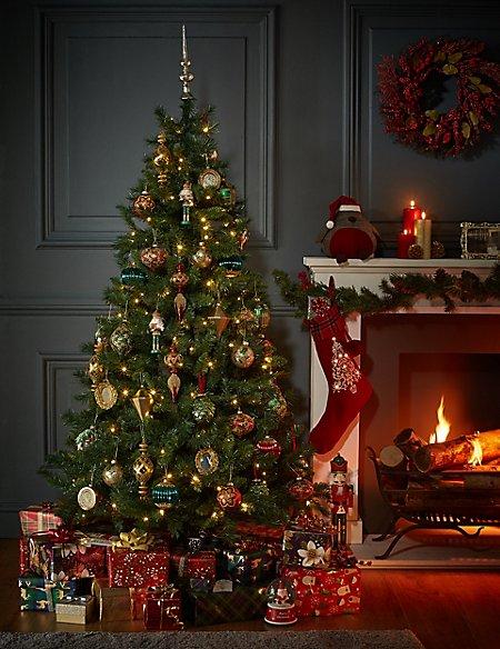 6ft Lit Standard Christmas Tree