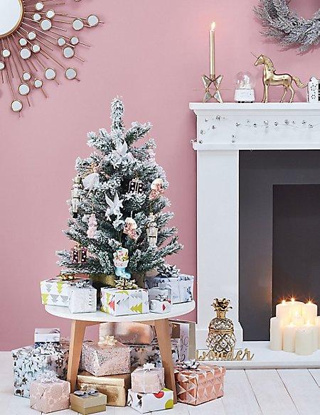 3ft Flocked Christmas Tree
