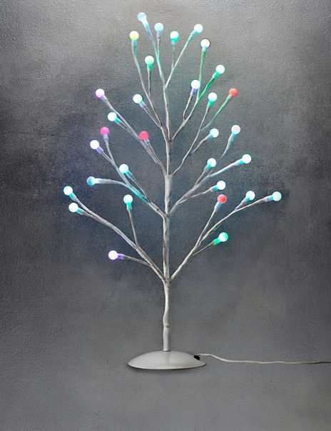 2ft Cute Colour-Changing Ball Christmas Tree