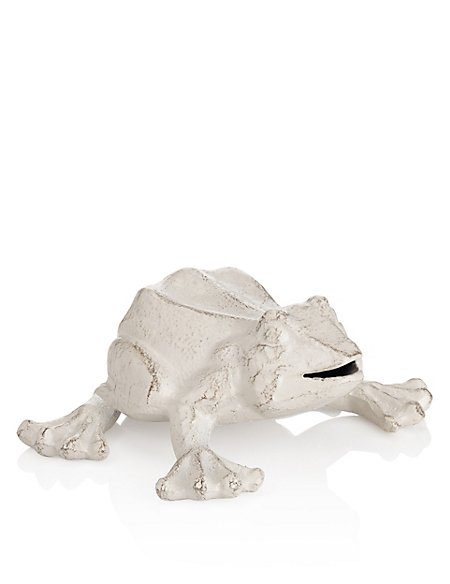 Cast Iron Frog Object