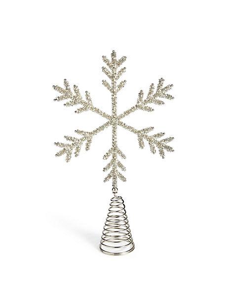 Snowflake Tree Topper