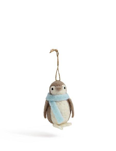 Felt Penguin Bauble